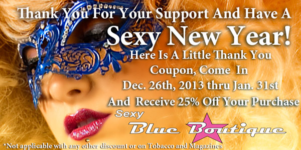 Have a Sexy New Year (25% Off Coupon)